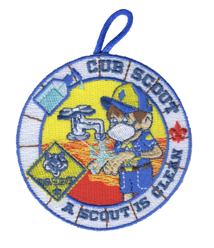 Cub Scout  Patch Scouting From Home with BSA FLeur De Lis