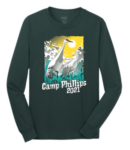 Long Sleeve Tee - L.E. Phillips Scout Reservation Staff 2021