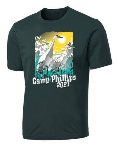 Wicking Short Sleeve Tee - L.E. Phillips Scout Reservation Staff 2021