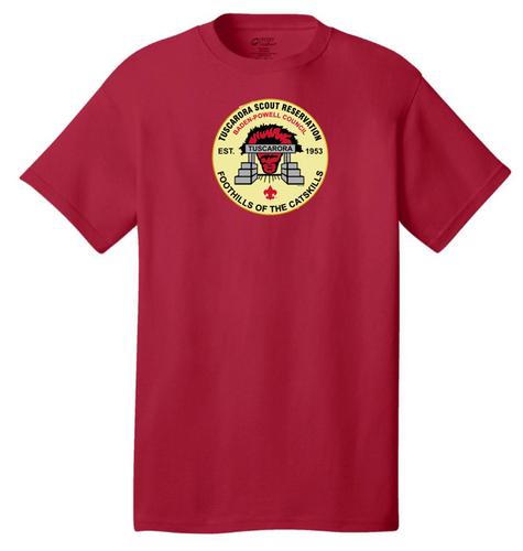 100% Cotton Short Sleeve T-Shirt- Tuscarora Branded Tee