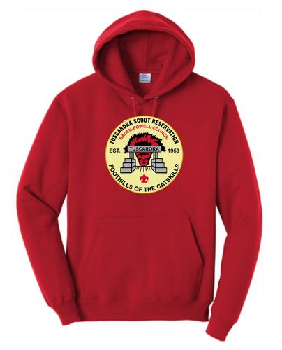50/50 Hooded Sweatshirt- Tuscarora Branded Hoodie