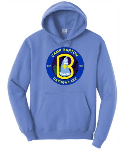 50/50 Hooded Sweatshirt- Barton Branded Hoodie