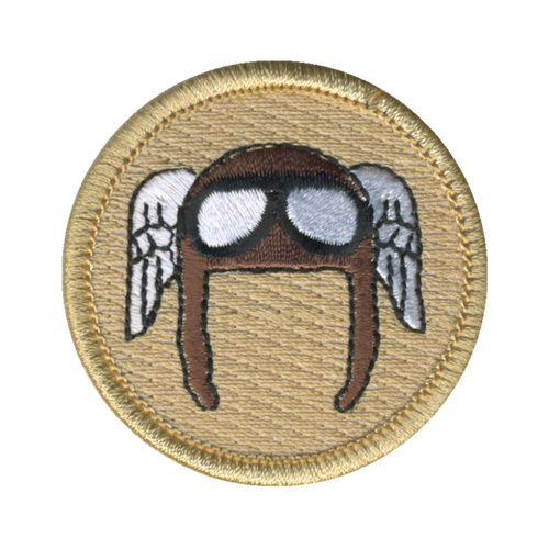 Earhart Patch - embroidered 2 inch round