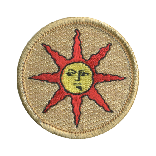 Sunlight Warriors Patch - embroidered 2 inch round