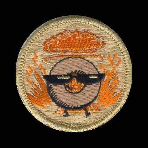 Devastating Donut Patch - embroidered 2 inch round