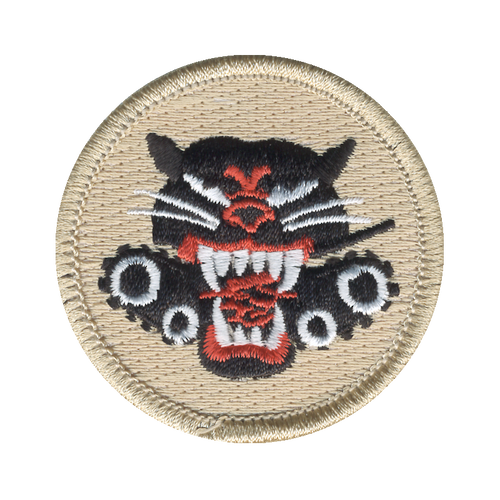 Hellcat Patch - embroidered 2 inch round