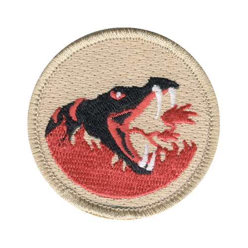 Inferno Viper Patch - embroidered 2 inch round