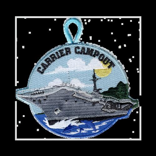 BSA Patch Carrier Campout
