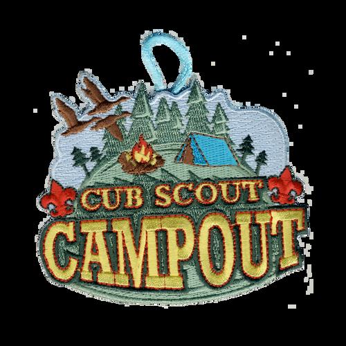 BSA Patch Cub Scout Campout