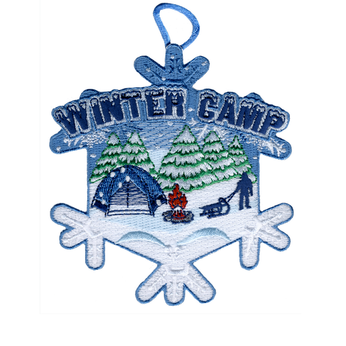 Winter Camp Activity Patch