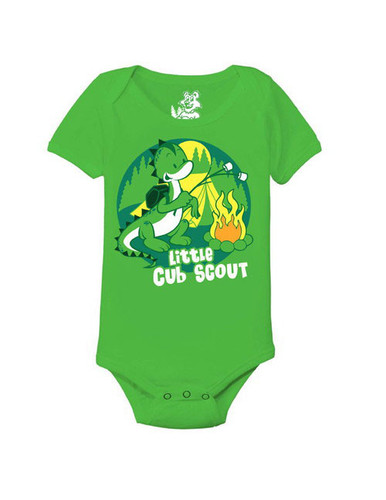 Cub Scout Pack Onesie With Little Dino Cub Scout Design
