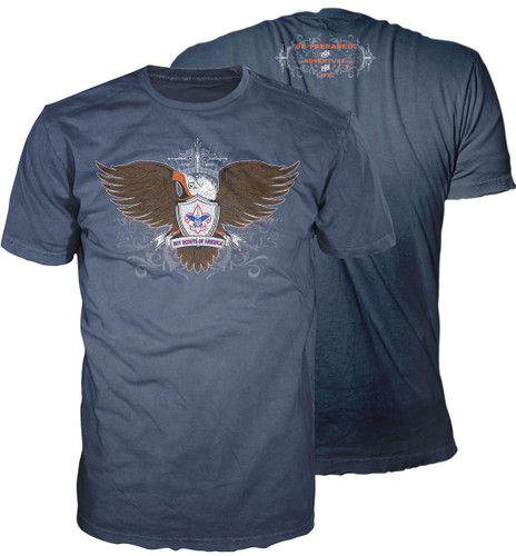 BSA Eagle Scout Graphic Tee with Eagle Scout Logo
