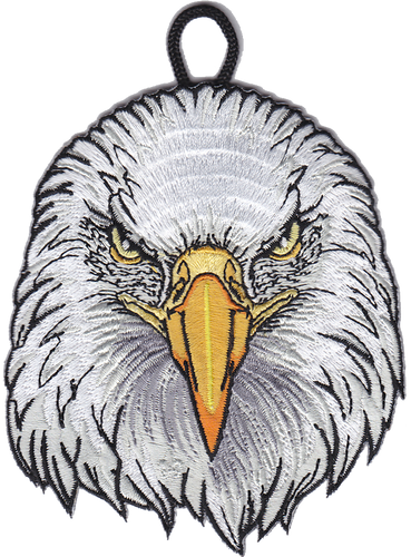 Wood Badge Patch of Wood Badge Eagle Critter Head