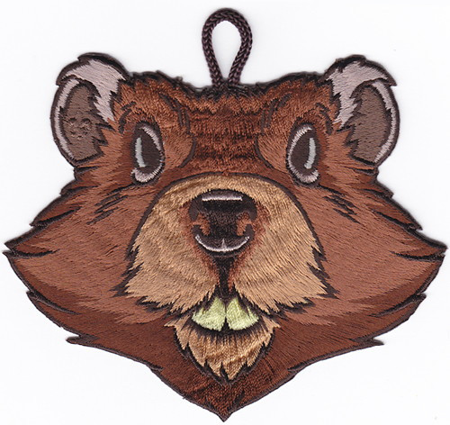 Wood Badge Patch of Wood Badge Beaver Critter Head