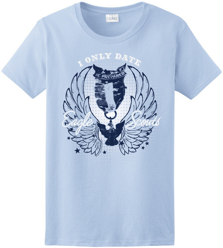 BSA Eagle Scout Graphic Tee with I Only Date Eagle Scouts Design