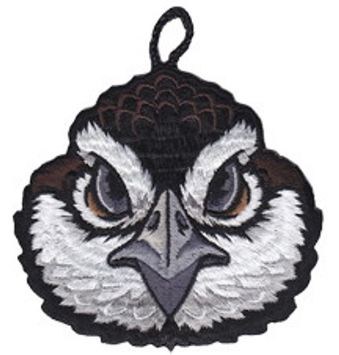 Wood Badge Patch of Wood Badge Bobwhite Critter Head