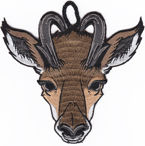 Wood Badge Patch of Wood Badge AntelopeCritter Head