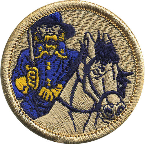 Official Licensed Cavalrymen Patrol Patch