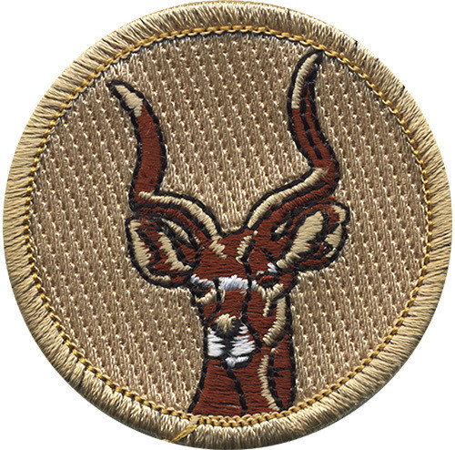 Antelope Scout Patrol Patch - embroidered 2 inch round