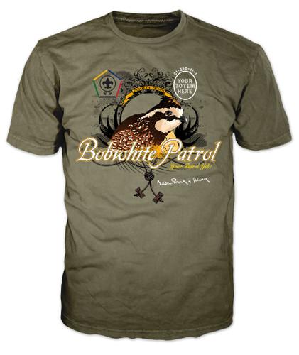 Custom Wood Badge Bobwhite Patrol T-Shirt (SP3256)
