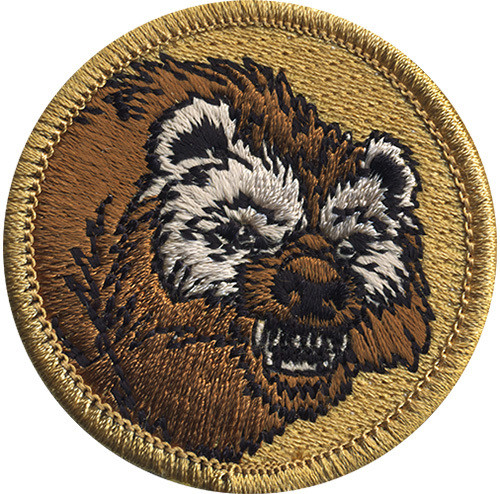 Premium Wolverine Scout Patrol Patch - embroidered 2 inch round