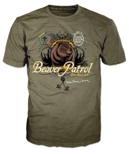 Custom Wood Badge Beaver Patrol T-shirt (SP3253)