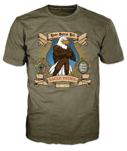 Custom Wood Badge Eagle Patrol T-Shirt (SP3244)