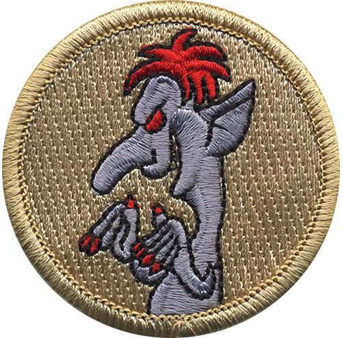 Troll Scout Patrol Patch - embroidered 2 inch round