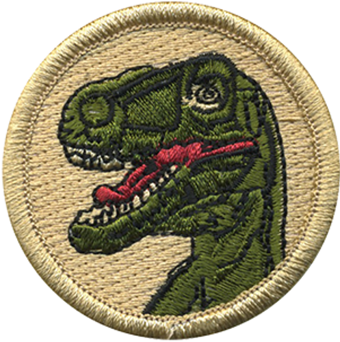 Raptor Scout Patrol Patch - embroidered 2 inch round