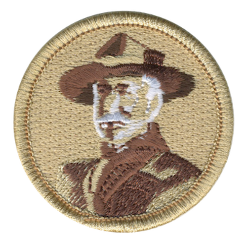 Baden-Powell Scout Patrol Patch - embroidered 2 inch round