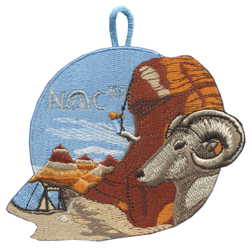 Nights of Camping Patch 50 Nights - NOC50