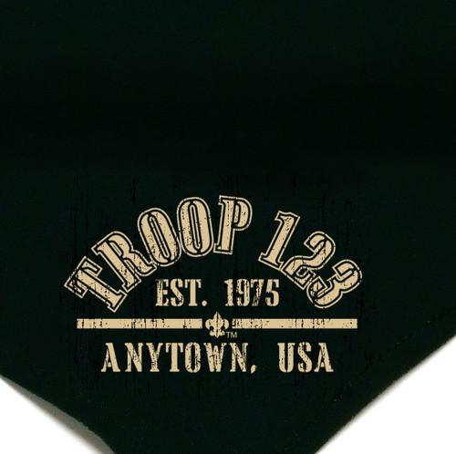 Troop Neckerchief with Custom Design