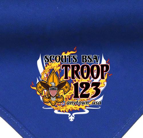 Troop Neckerchief with BSA Universal Trademark