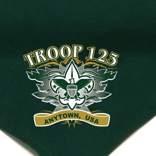 Troop Neckerchief with BSA Logo