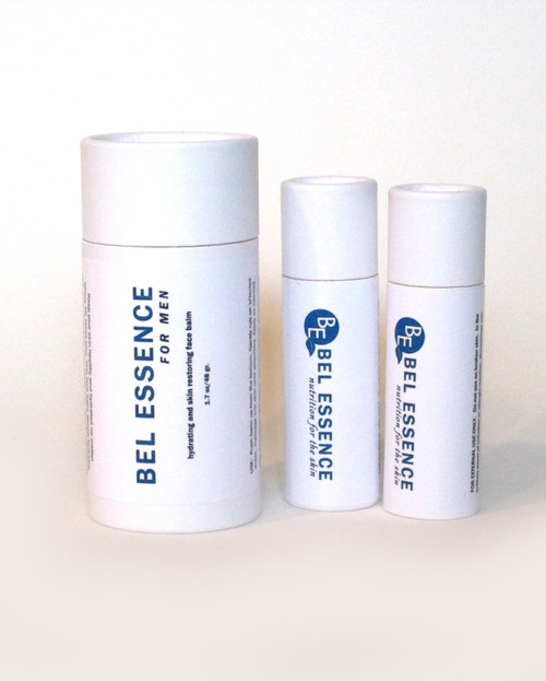 For Men: Hydrating and Skin Restoring Face Balm And Lip Balm Duo - Hydrates and Repairs