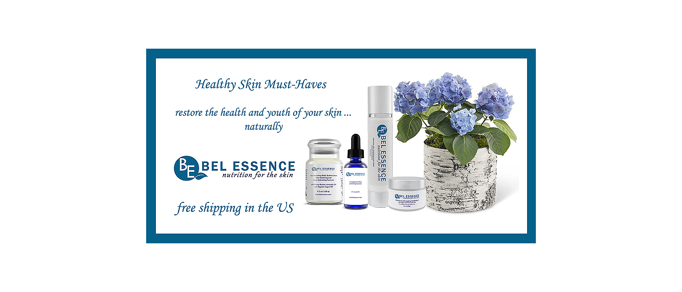 Bel Essence Natural skin care free shipping in the US