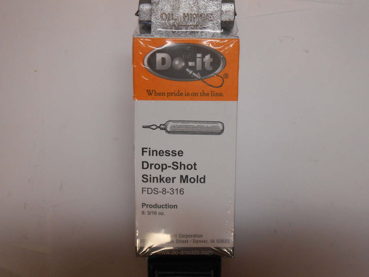Weights Cylinder Drop Shot Sinkers 50 Count 3//16 oz Finesse