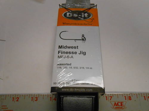 """DO-IT MIDWEST """"NED"""" RIG JIG MOLD  MODEL 3513"""