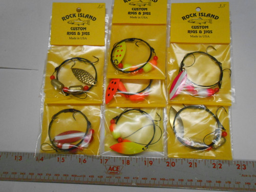 WALLEYE FLOAT WIRE RIGS WILLOW 3.5