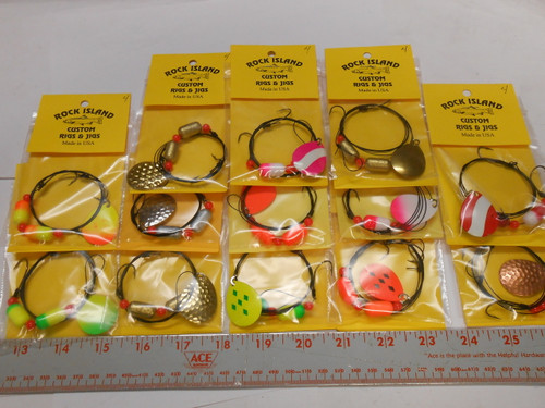 WALLEYE FLOAT WIRE RIGS 4 COLORADO