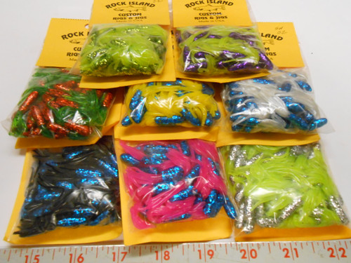 ROCK ISLAND CRAPPIE TUBES SCALE SERIES