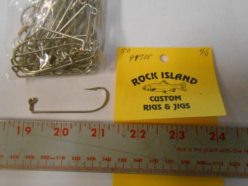 Mustad 91715 Jig  Hooks 50 ct