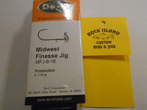 Do-It Midwest Finesse Jig Mold 1/16 production 3532 NFJ-6-16