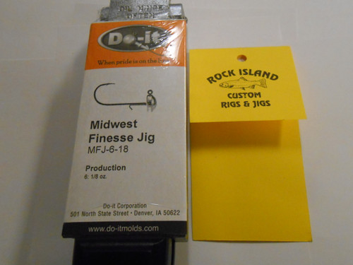 Do-It Midwest Finesse Jig Mold 1/8 oz 3534
