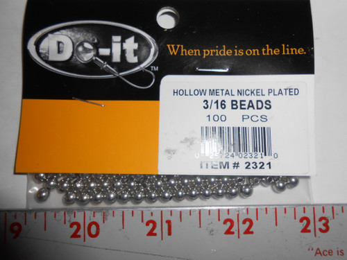 Do-It Beads Hollow Metal Beads