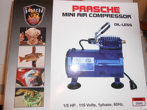 Paasche Air Compressor D500
