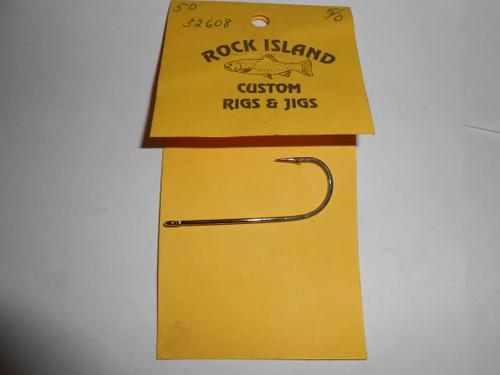 Mustad # 32608 Spinner Bait Hooks 50 ct
