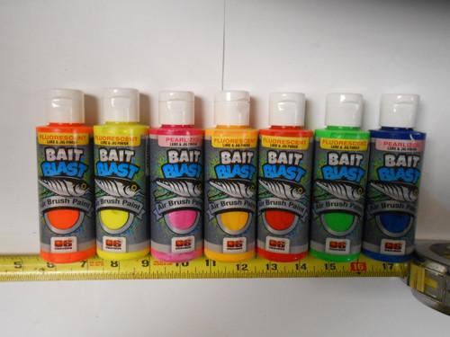 Do-It Bait Blast Air Brush Paint Primary Colors