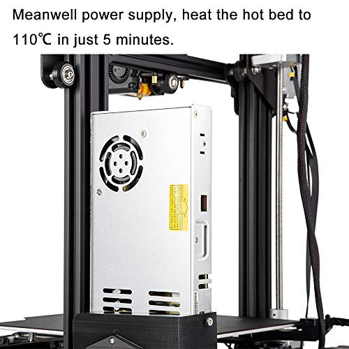 Comgrow Creality Ender 3 Pro 3D Printer with Upgrade Cmagnet Build Surface  Plate and UL Certified Power Supply 8 6