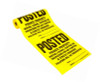 Roll of 200 Posted Private Property Signs - No Hunting, Fishing Signs